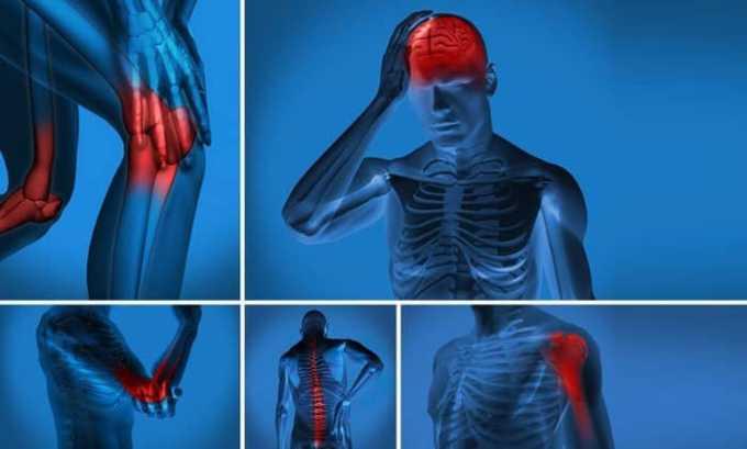 Комбинация димексида и дексаметазона создает сильный обезболивающий и противовоспалительный эффекты