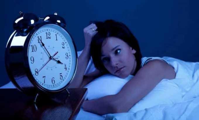 Применение Персена показано при нарушениях сна