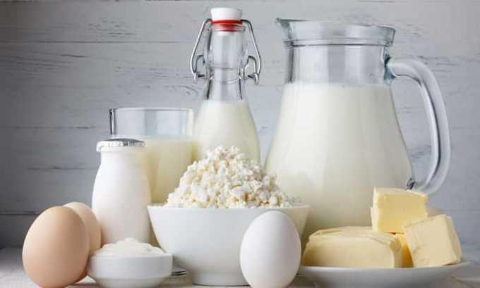 Кисломолочные продукты и яйца поддерживают необходимую концентрацию кальцитонина