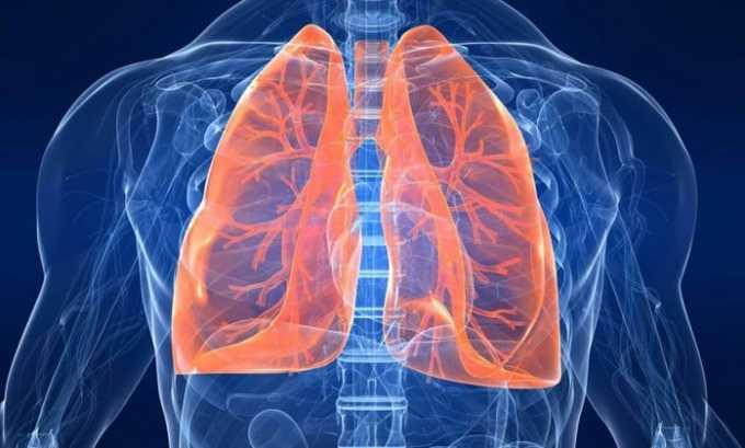 Если у человека диагностирована болезнь легких лечение проводят с осторожностью