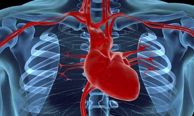 Анепро перераспределяет кровяные потоки в коронарных артериях
