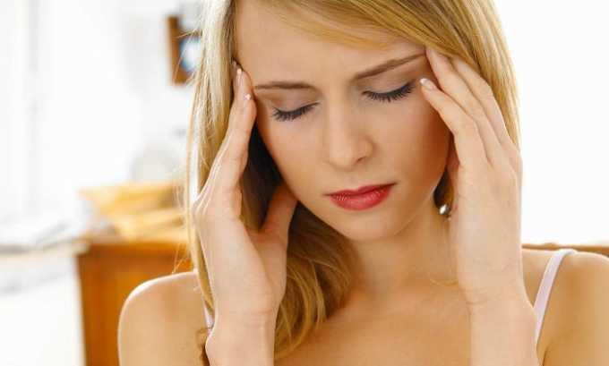 Препарат назначается при мигрени