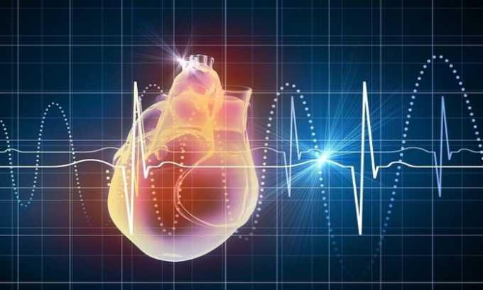 Средство противопоказано при наблюдении у пациентов острой или хронической сердечно-сосудистой недостаточности