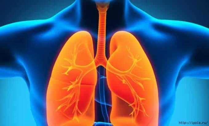 Назначать препарат людям, страдающим заболеваниями дыхательной системы следует с осторожностью