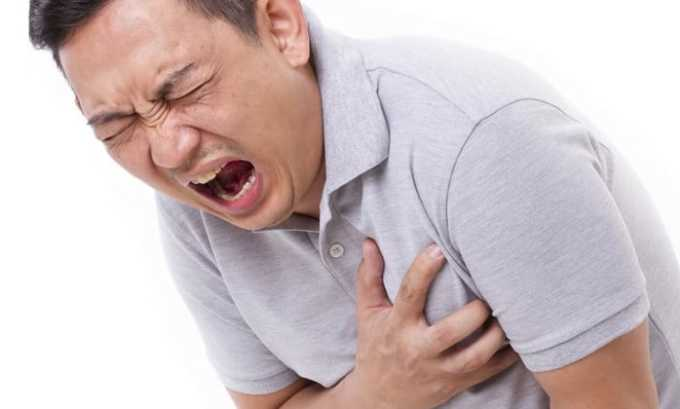 От свечей Вольтарен может появиться боль в груди