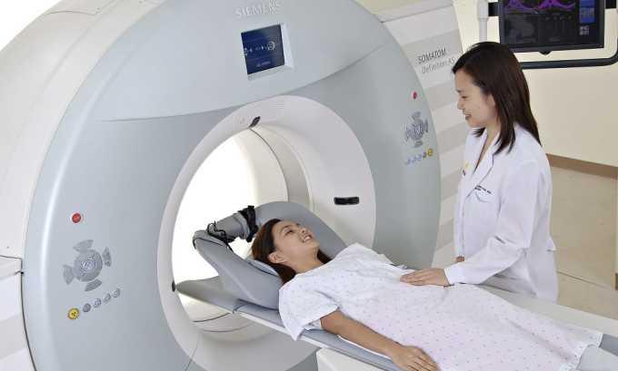 МРТ позволяет более точно увидеть щитовидную железу