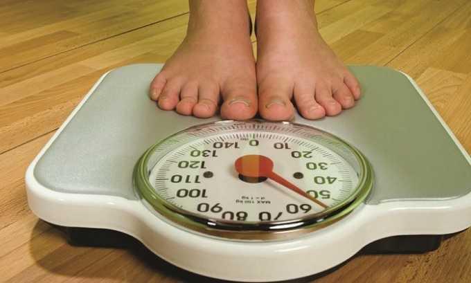 При заболеваниях щитовидки наблюдается потеря веса у больного