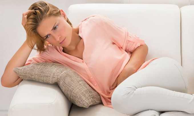 Недостаточное количество гормонов в организме увеличивает болезненность месячных и усиливает признаки ПМС