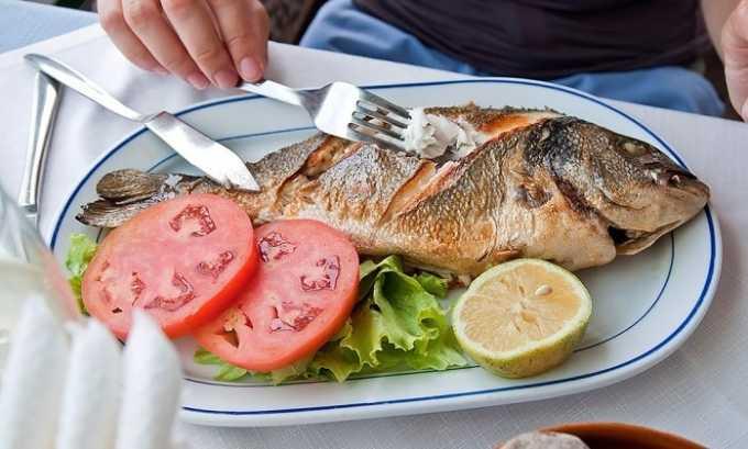 Разрешено употреблять при тиреотоксикозе пресноводную рыбу