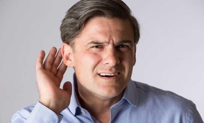 Прием лекарства может вызвать проблемы со слухом