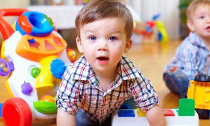 Мазь Гидрокортизон не используется в лечении детей до 2 лет