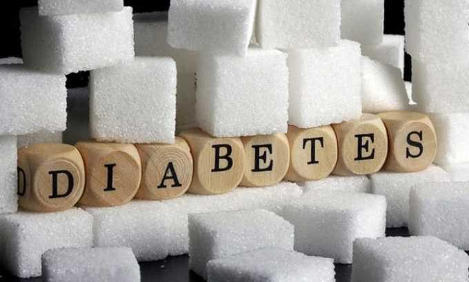 Побочное действие со стороны эндокринной системы: развитие сахарного диабета латентного типа