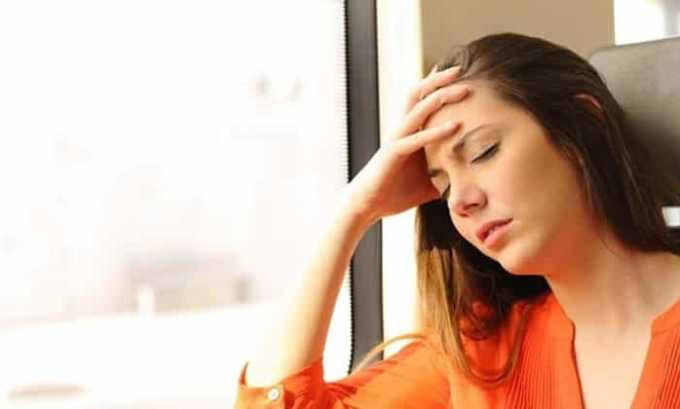 Препарат назначают для предотвращения приступов мигрени