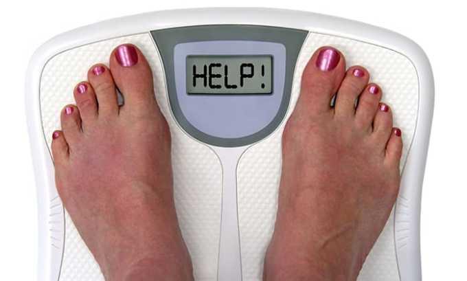Дексаметазон может вызвать увеличения избыточной массы тела