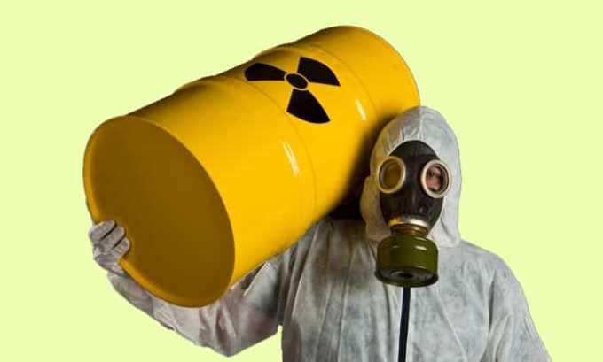 Одной из причин возникновения злокачественной опухоли является радиоактивное облучение