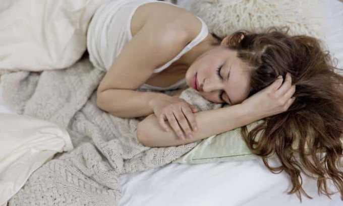 Корвалол оказывает снотворный и седативный эффект