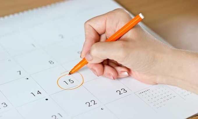 При заболевании щитовидки наблюдается сбой менструального цикла