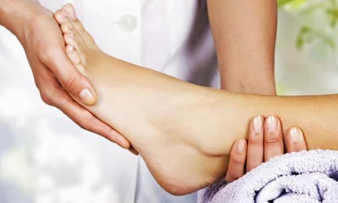 Состав рекомендуется использовать при артрите