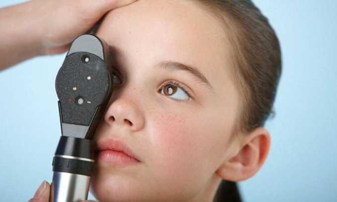 Препарат Вобэнзим применяют при нарушении работы органов зрения