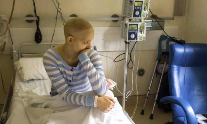 Используется после химиотерапии, если болевой синдром не был купирован