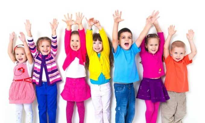 Прием препарата противопоказан детям