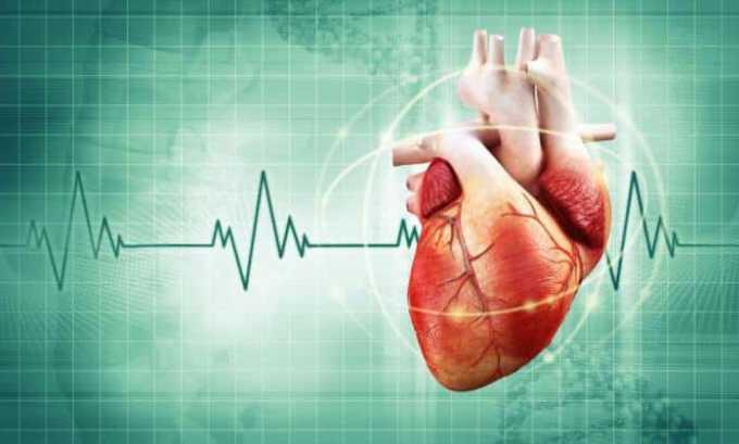 У больных с сердечными патологиями препарат может вызывать увеличение ЧСС