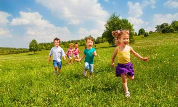 Применение препарата противопоказано в детском возрасте до 6 лет