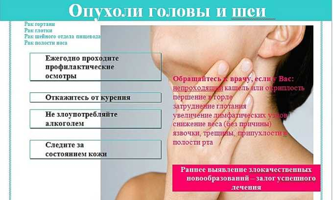 Противоопухолевый антибиотик назначается в таких случаях, как Рак шеи, головы