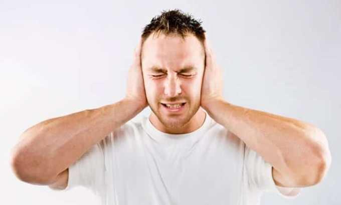 Среди побочных эффектов Эгилока присутствует шум в ушах