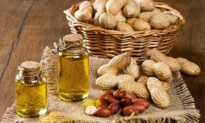 Витамин Е содержится в арахисовом масле