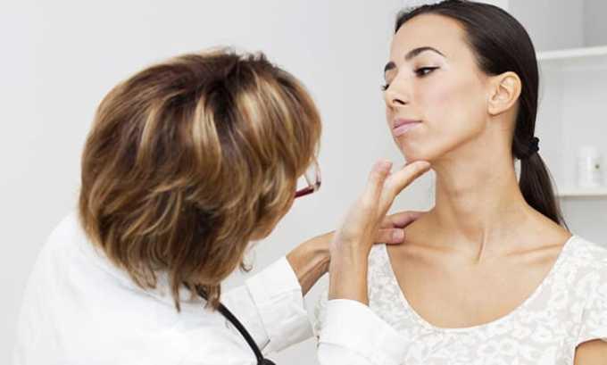 Результаты применения Элькара 100 при заболевании щитовидной железы легкого течения положительные