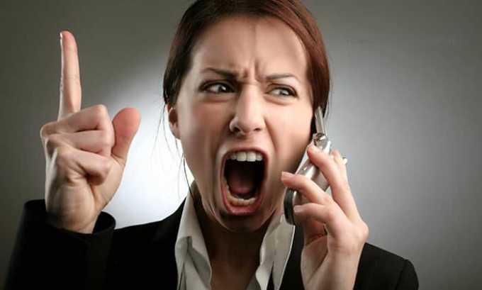 Наличие стрессов в жизни приводит к быстрому развитию болезни