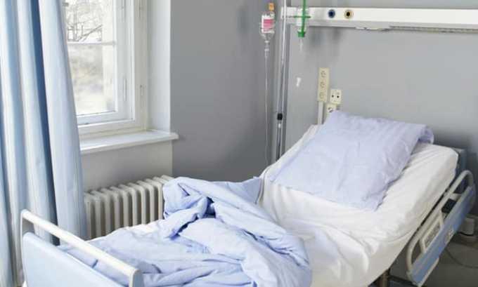 На определенный срок больному предоставляется отдельная палата с ограничением свободного выхода