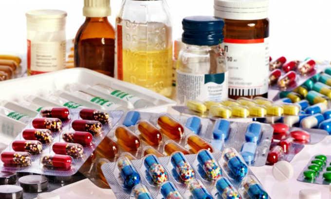 Гель имеет хорошую совместимость с лекарственными средствами для перорального и местного использования