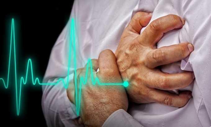 Со стороны сердечно-сосудистой системы возникает брадикардия
