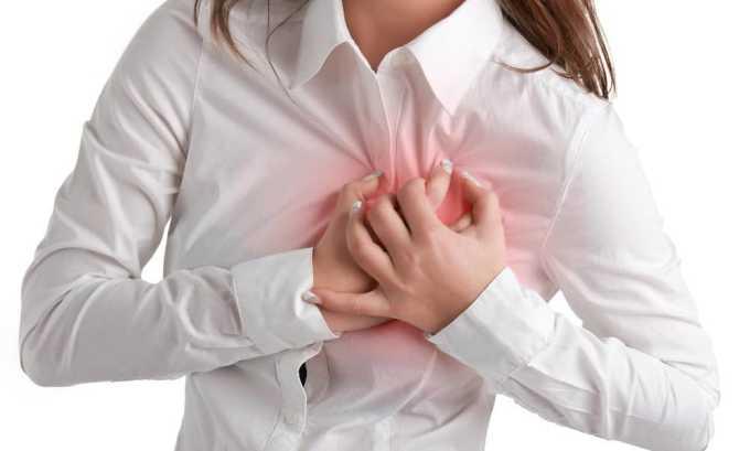 Диффузно-узловое разрастание приводит к нарушению функций сердечно-сосудистой системы