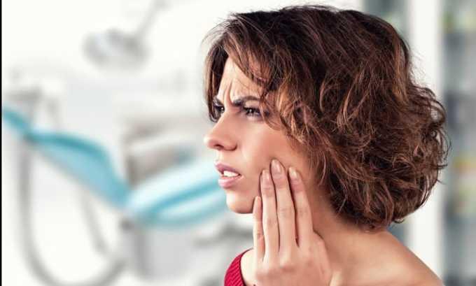 Кеторол назначают при зубной боли