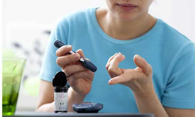 При сахарном диабете нужно соблюдать осторожность при приеме l-тироксина 125