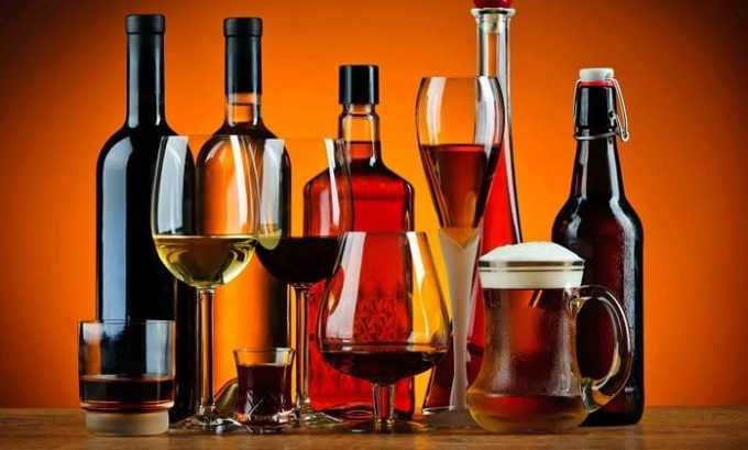 Cтоит избегать взаимодействия препарата с алкоголем