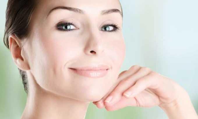 Витамин ухаживает за кожей и омолаживает ее