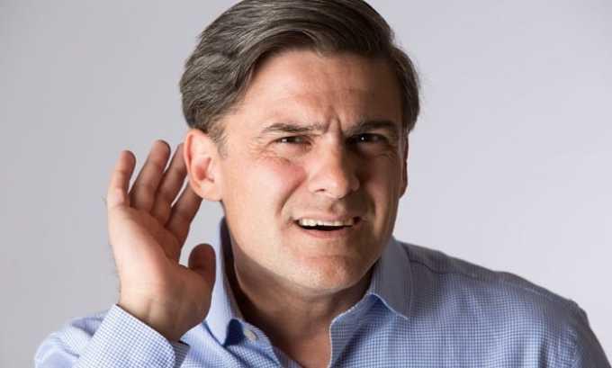 Эгилок РС может вызвать снижение остроты слуха
