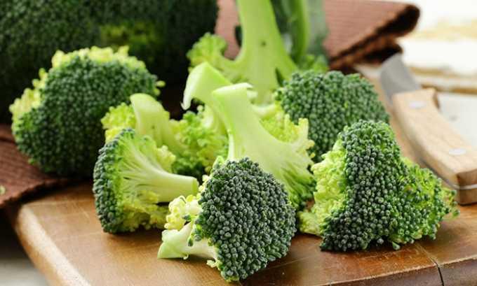Витамин е содержится в брокколи