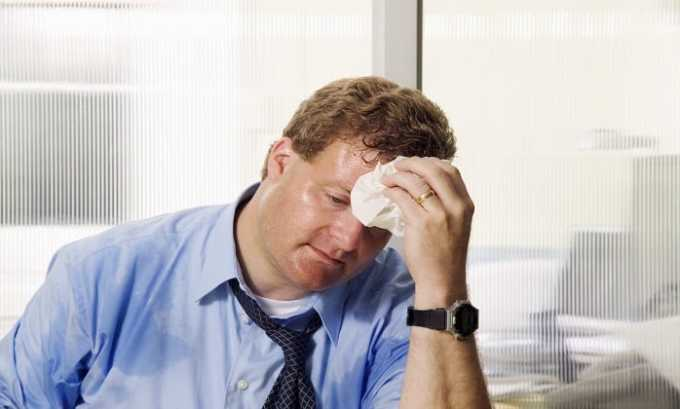 Повышенная утомляемость считается побочным действием приема препарата