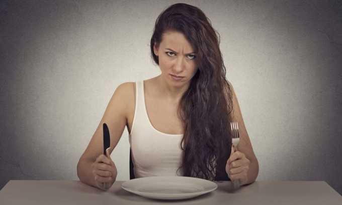 На увеличение количества данного гормона влияет и соблюдение строгих диет