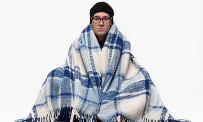 Больной может испытывать частое чувство холода