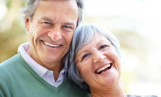 Препарат противопоказан в старческом возрасте