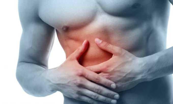 Нарушение функций печени (боли в правом боку) может стать побочным действием от применения средства