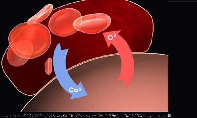 Препарат способствует доставке большего количества кислорода в ткани