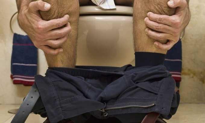 Понос может сигнализировать о передозировке
