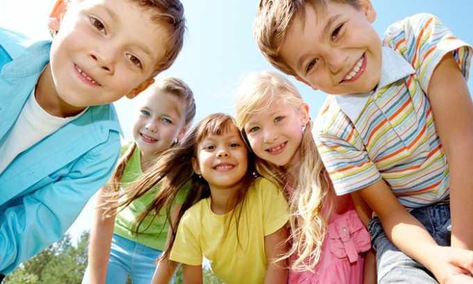 У детей применяют препарат с особой осторожностью